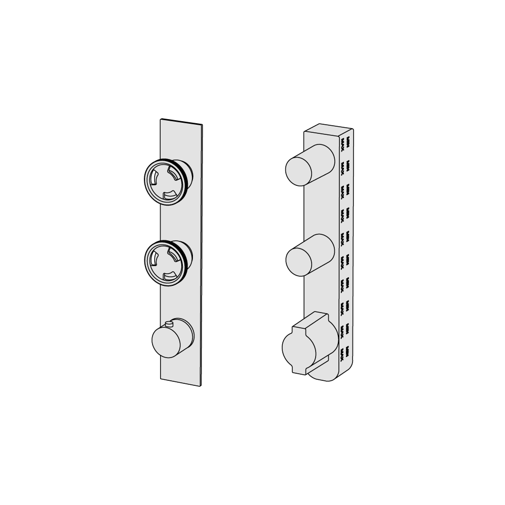 Thermostatic with manifold and diverter