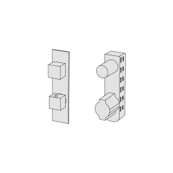 Thermostatic with 2 ways diverter