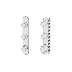 Thermostatic with 2 manifolds