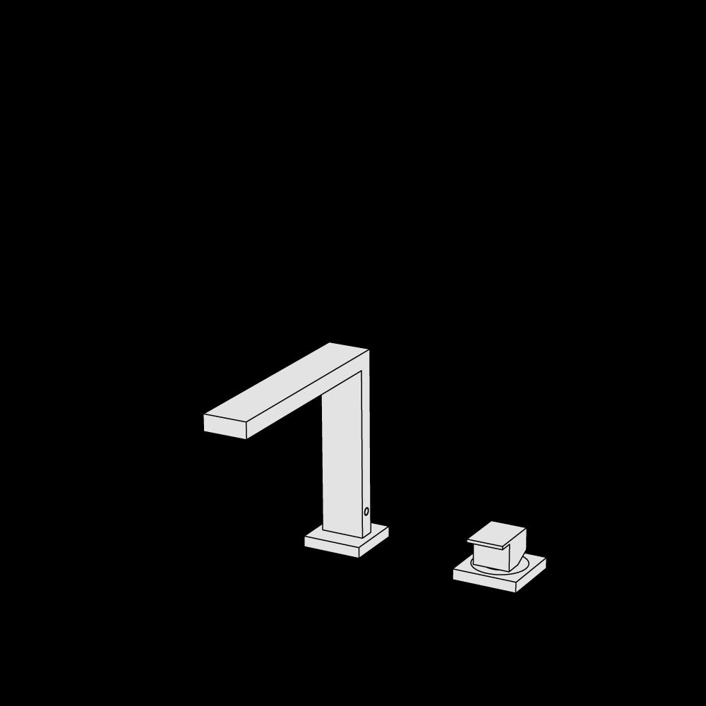 Miscelatore lavabo 2 fori