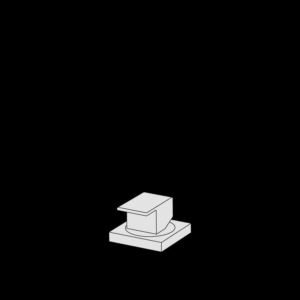 Deck-mounted mixer