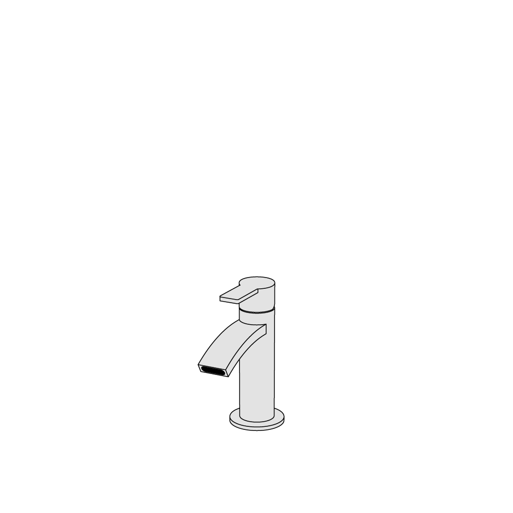 Miscelatore bidet