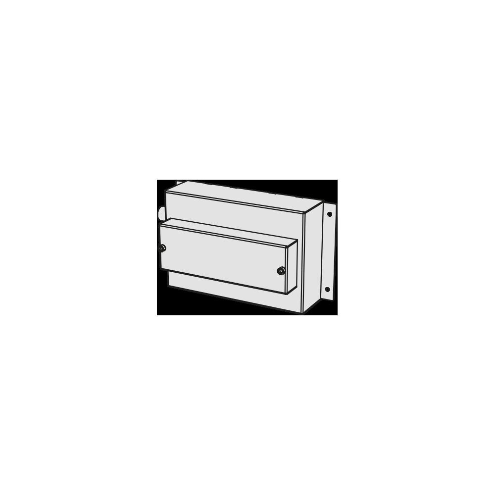 Box incasso per lavabo a parete