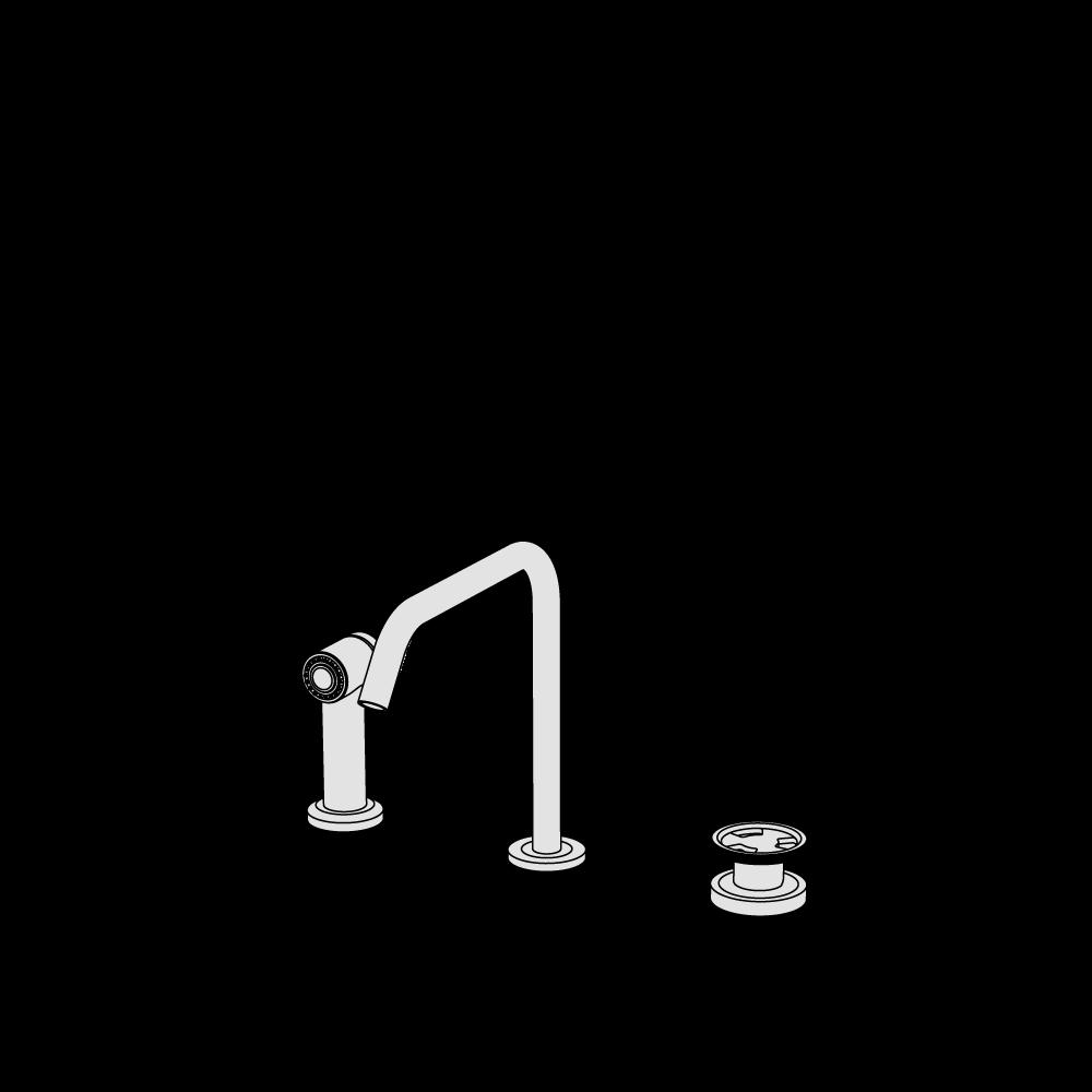 3-hole mixer