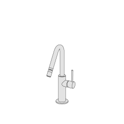 Miscelatore bidet canna media