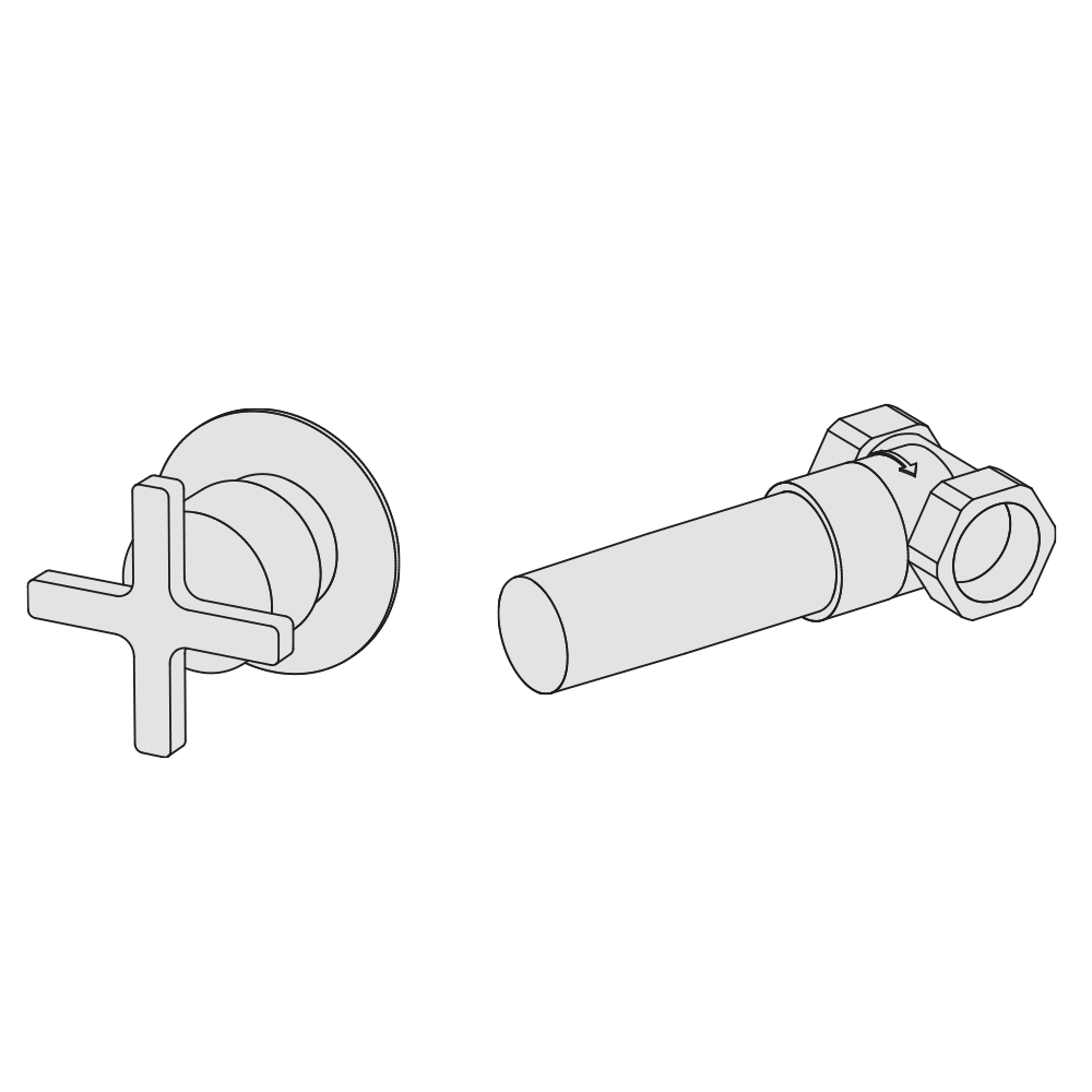 "3/4"" stop valve"