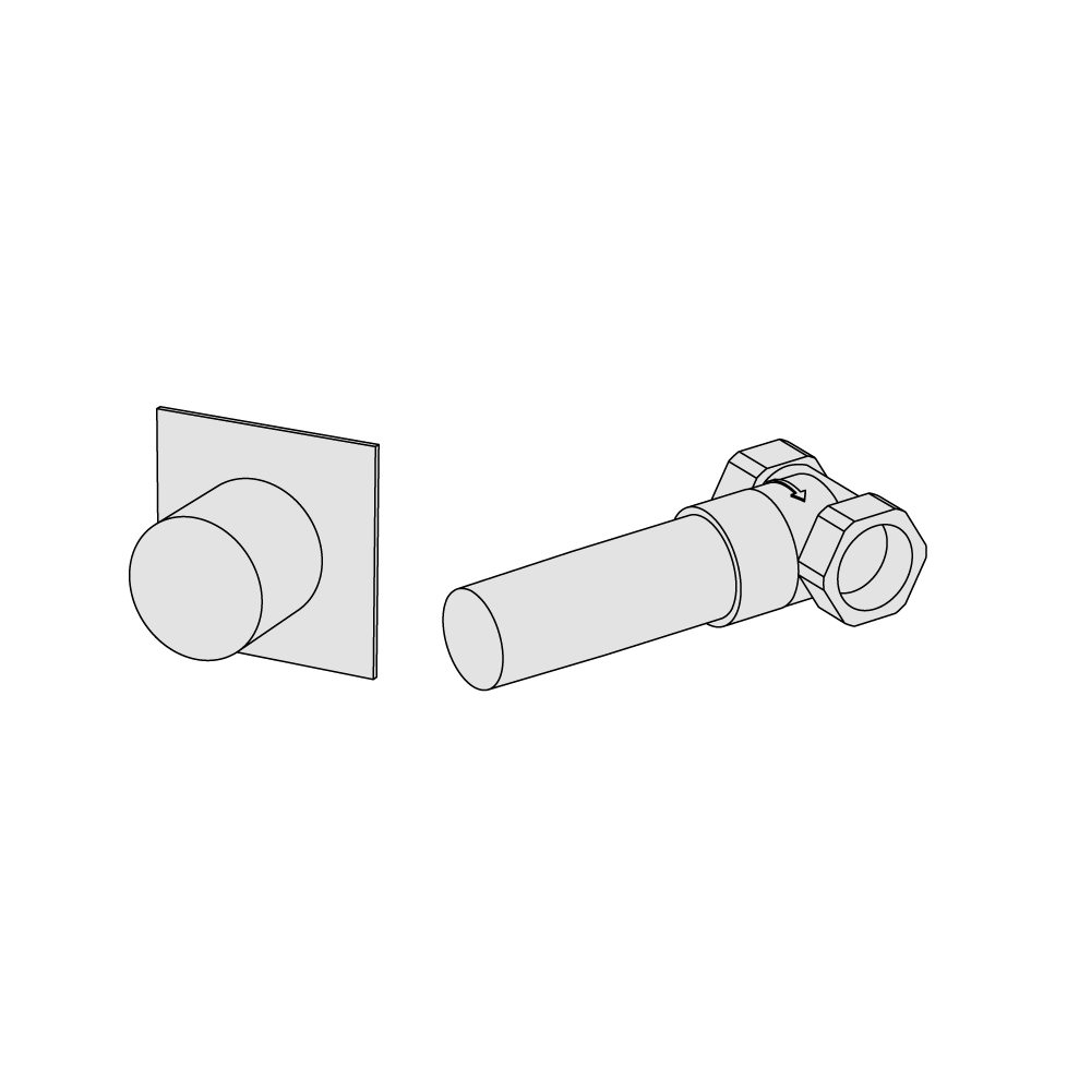"1/2"" stop valve"