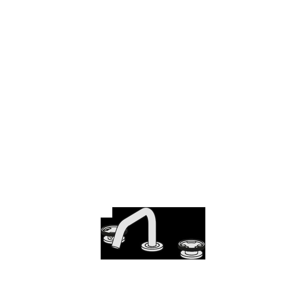 3-hole basin tap